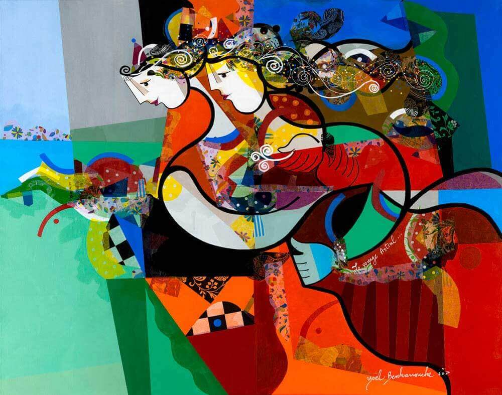 YOEL BENHARROUCHE what is abstract photography painting