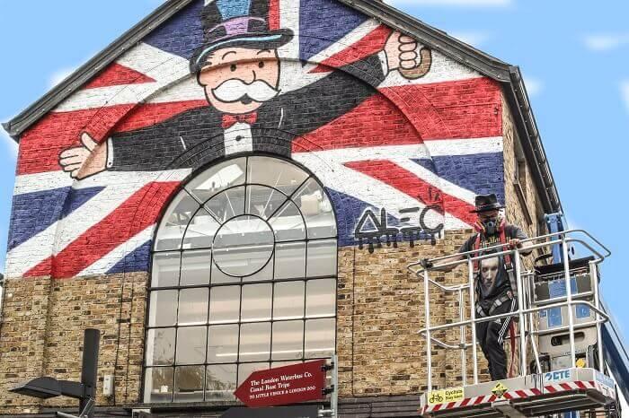 Alec Monopoly Graffiti street art as fine art