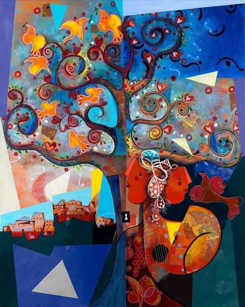 YOEL BENHARROUCHE AND THE SPIRITUAL ABSTRACTION