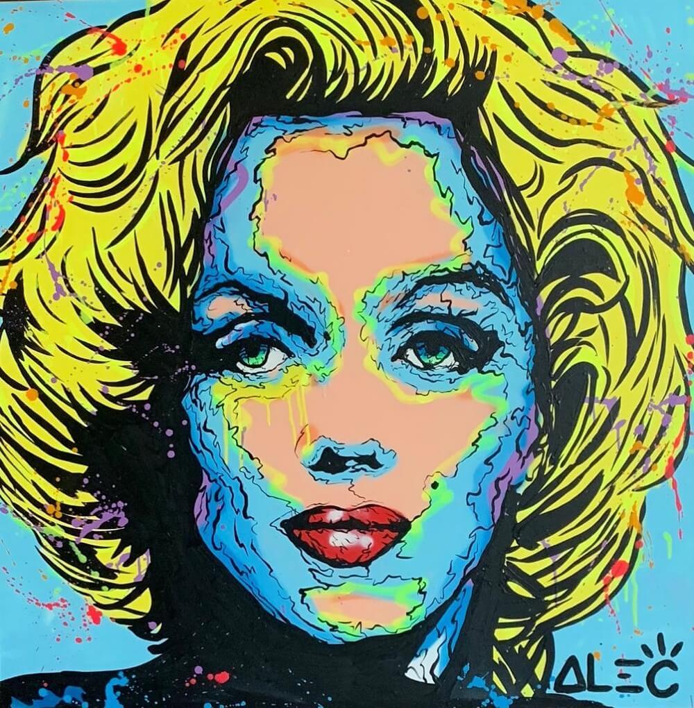 Famous Artists Faces Fine Art Print