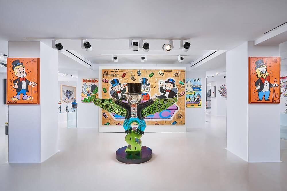 Alec Monopoly - Eden Fine Art - Mykonos Eden Gallery