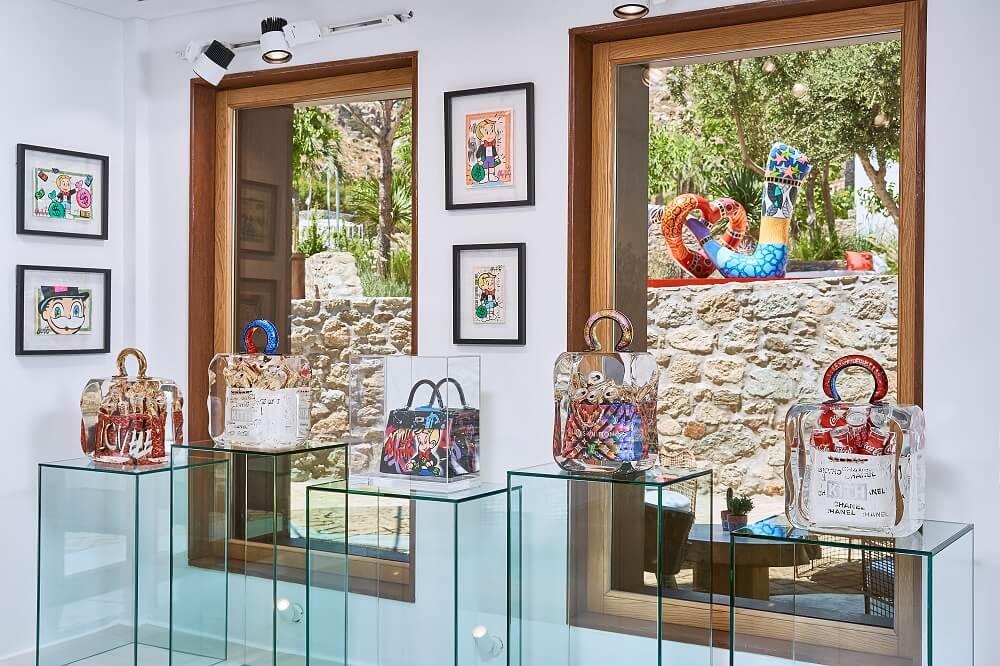 Inside Eden Gallery Mykonos