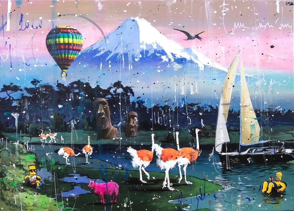 Hot Air Balloon - Angelo Accardi - Relaxing Art