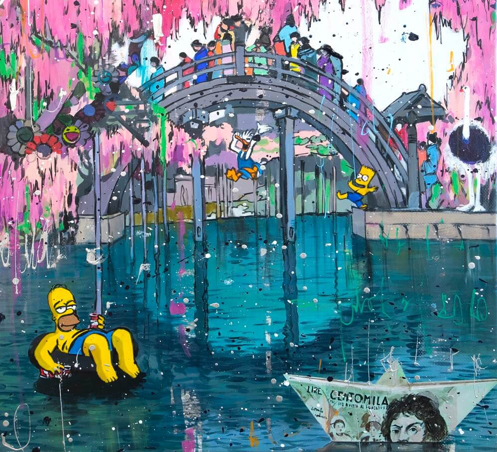 Homer in Relax - Angelo Accardi - International Artists Day