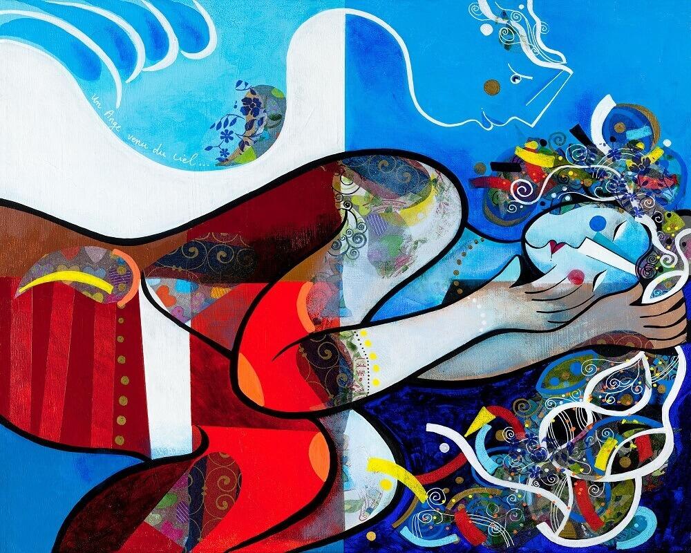 UN ANGE VENU DU CIEL - Yoel Benharrouche - Relaxing Art