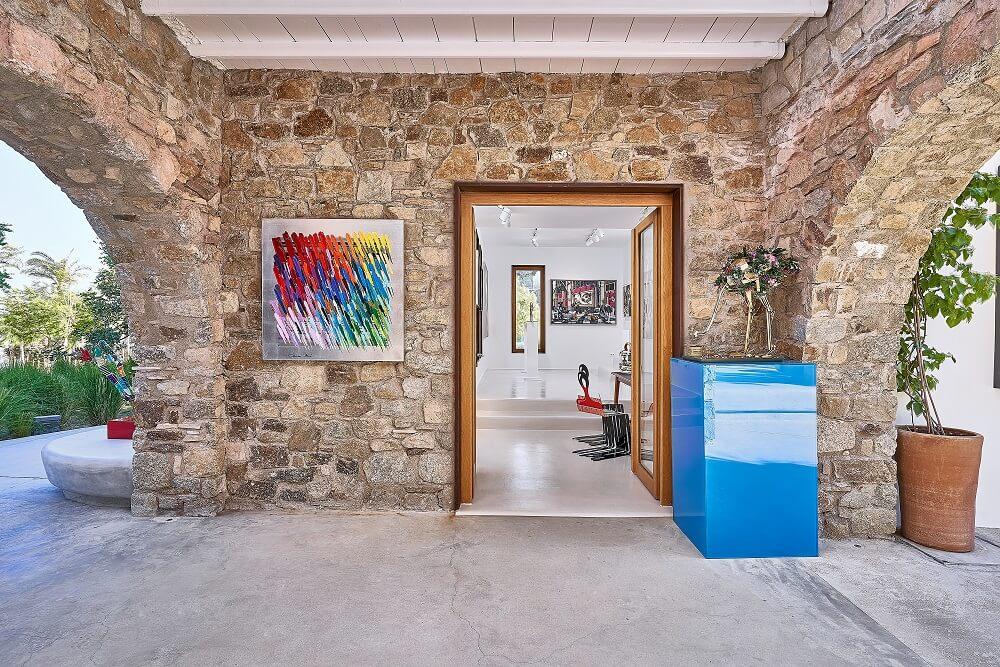 Calman Shemi Art - Eden Fine Art Gallery Mykonos