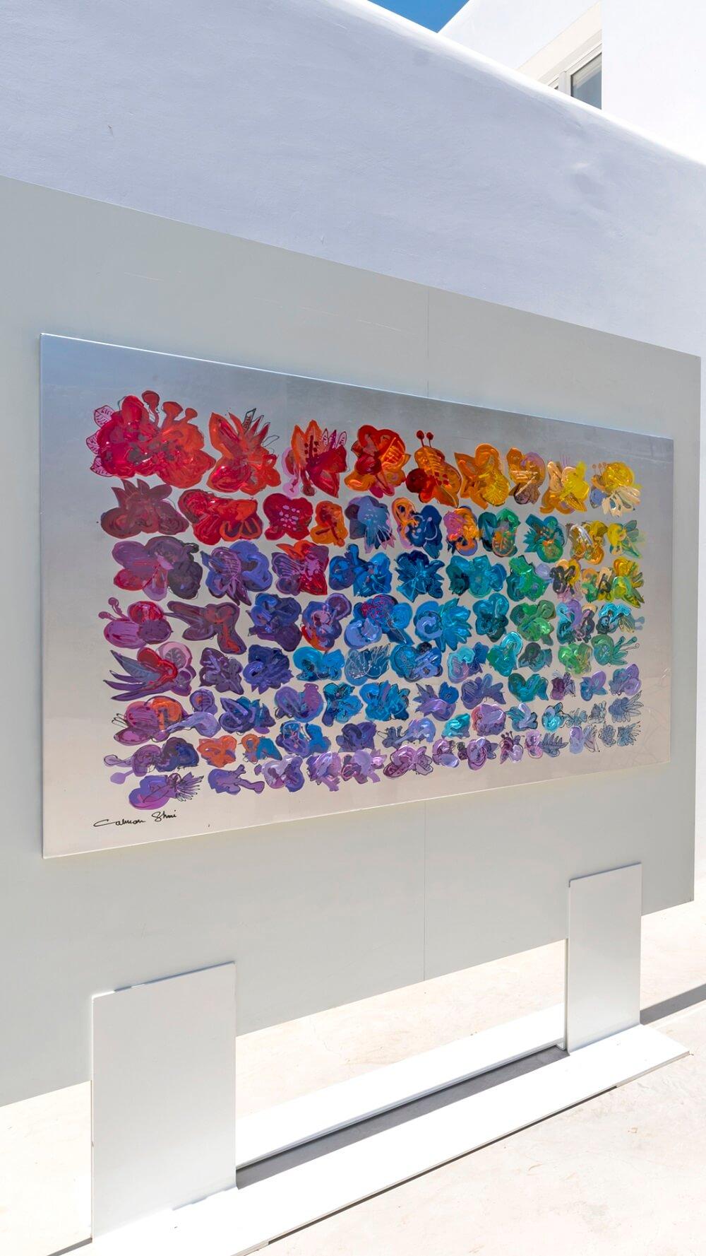 Calman Shemi Art - Flowers Field