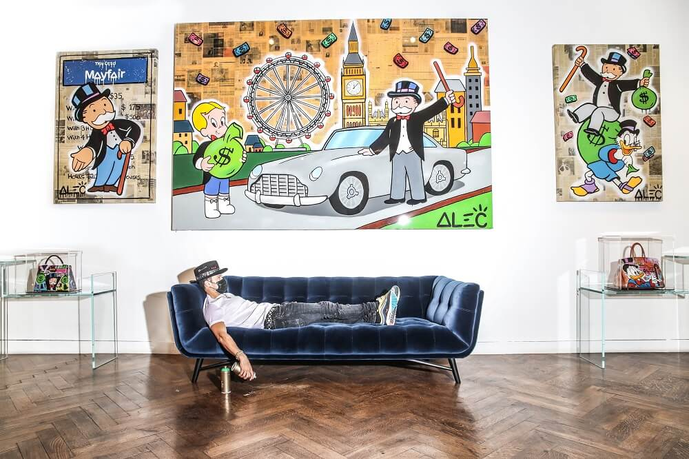 Alec Monopoly - how to store canvas paintings