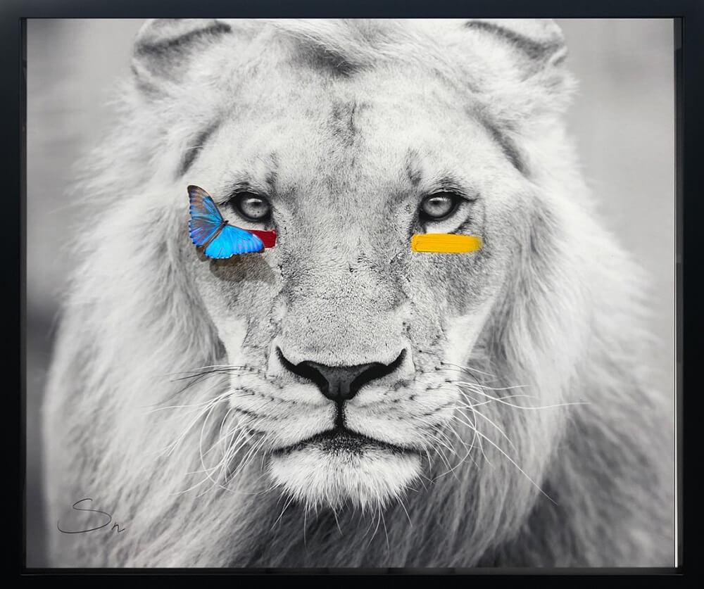 Humanimal Lion - SN - Celebrating International Artists Day