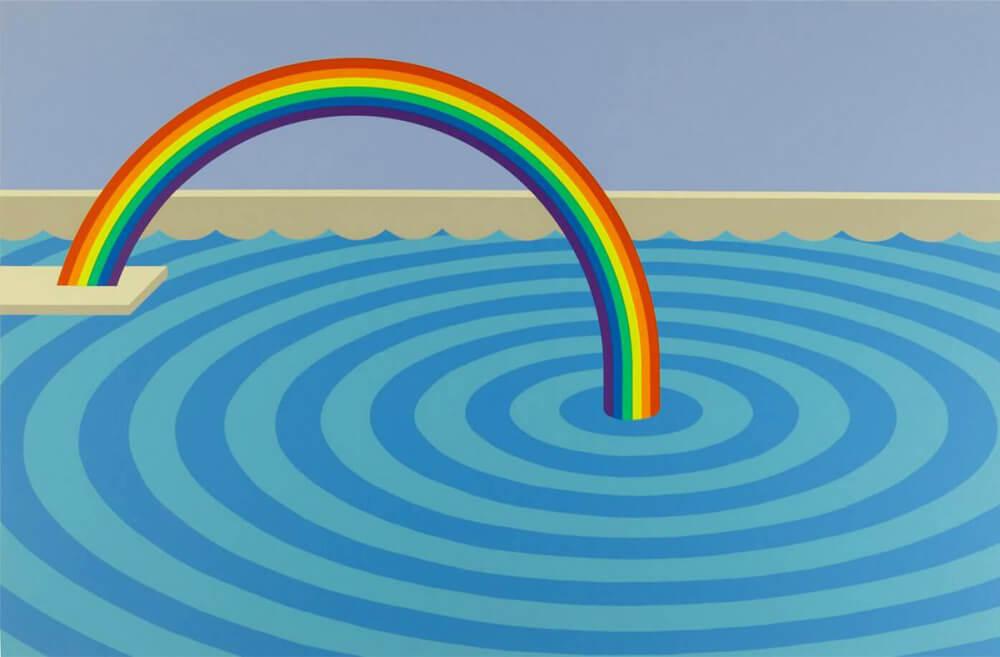 Patrick Hughes Rainbow Art - Eden Gallery