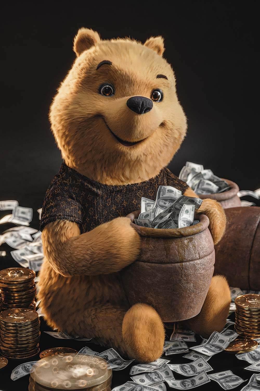 Pooh Sold The Honey - Gal Yosef - Eden Gallery