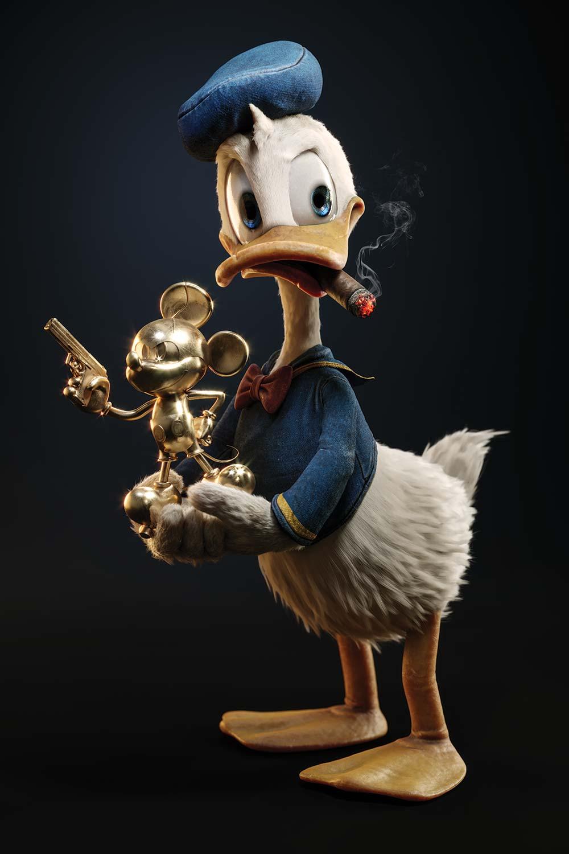 Donald Duck Found A Treasure - Eden Gallery