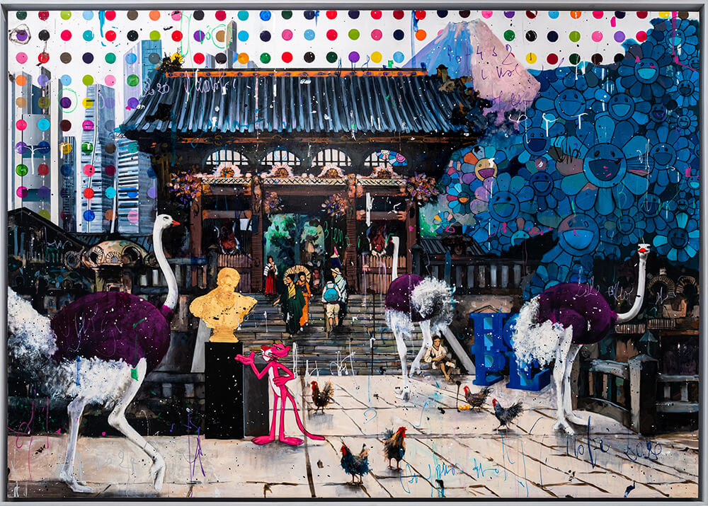The Surreal Art of Angelo Accardi -Points in a Japan Sky- Angelo Accardi - Eden Gallery