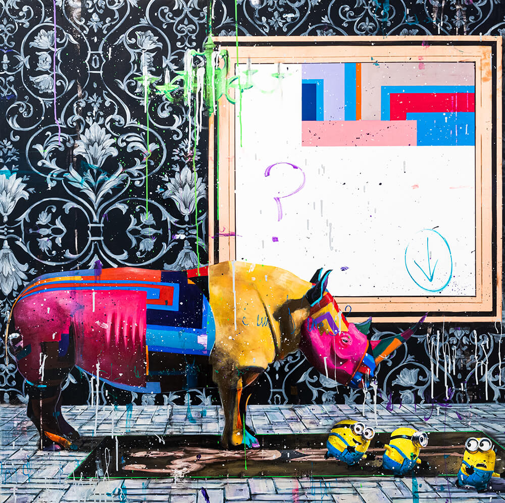 What's Happened To The Rhino? - Angelo Accardi - Eden Gallery
