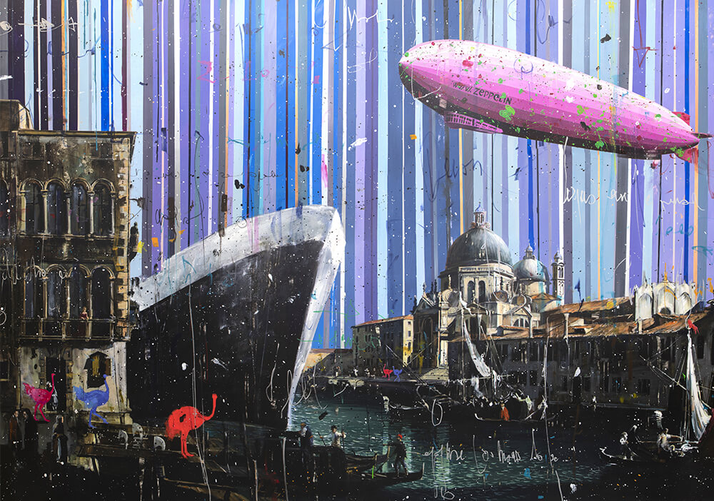 The Surreal Art of Angelo Accardi - Canaletto History - Angelo Accardi - Eden Gallery
