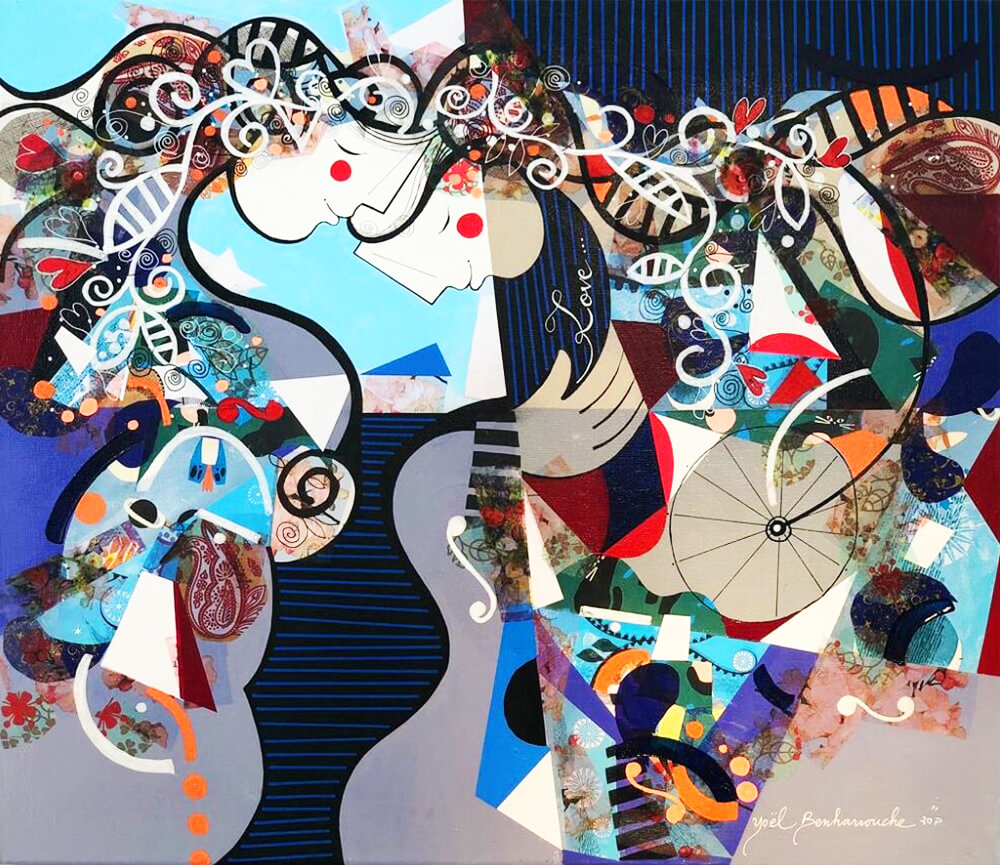 Valentine's Day - Love - Yoel Benharrouche - Eden Gallery