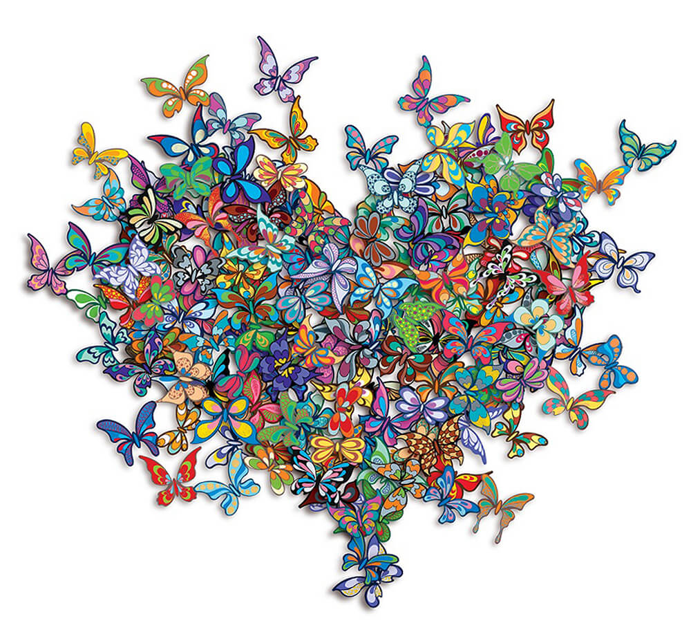 Valentine's Day - My Heart Is All A Flutter - David Kracov - Eden Gallery