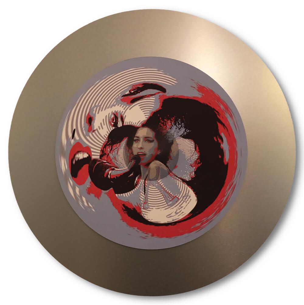 Jonty Hurwitz - Anamorphic Art - What A Jazz Genius May Hear- Eden Gallery