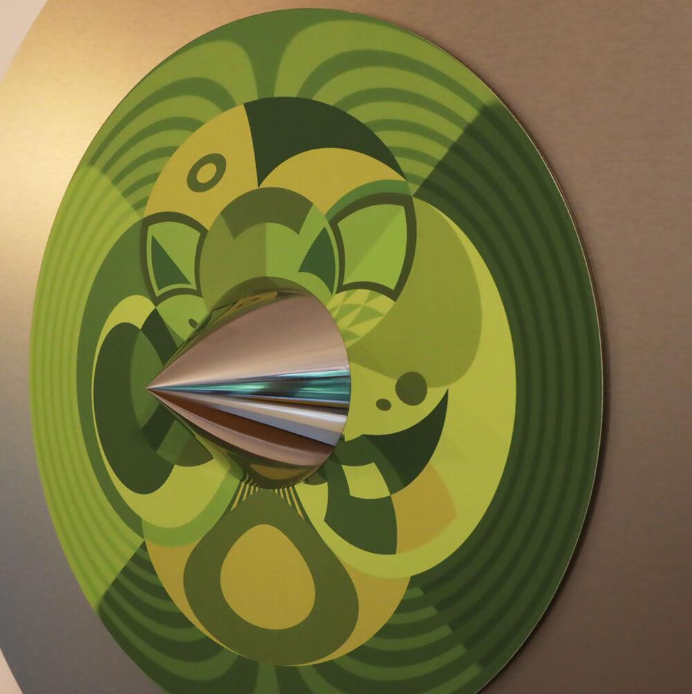 Jonty Hurwitz - African Mask Gunnera - Eden Gallery
