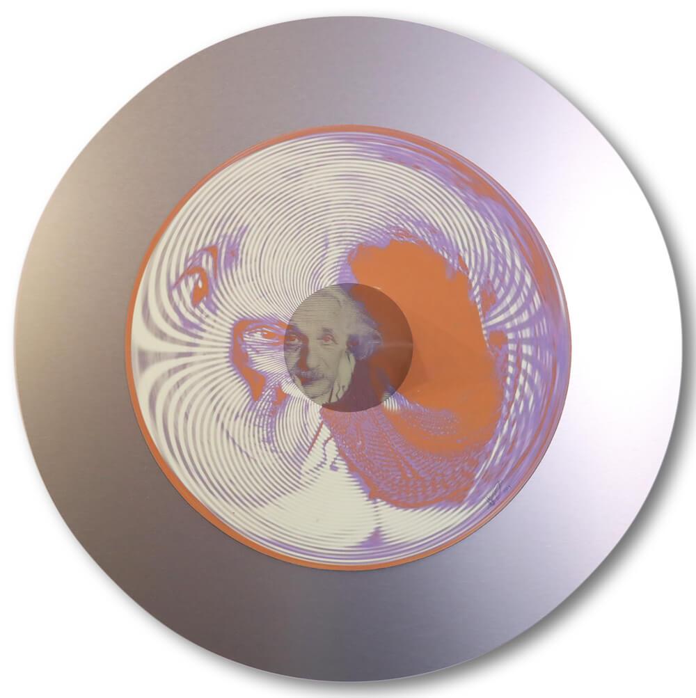 Jonty Hurwitz - Anamorphic Art - Understanding The Mind Of Einstein - Eden Gallery
