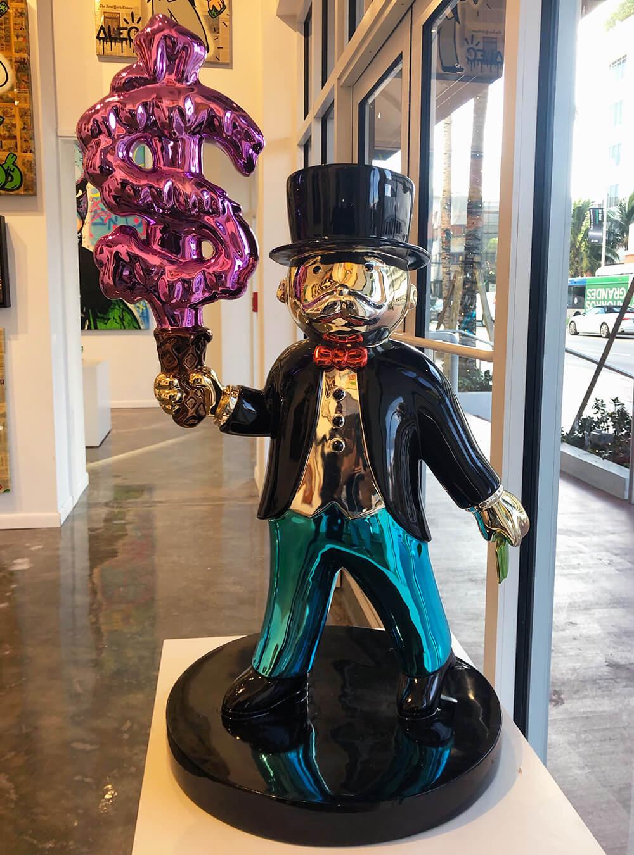 Monopoly Ice Cream Sculpture - Eden Gallery Miami