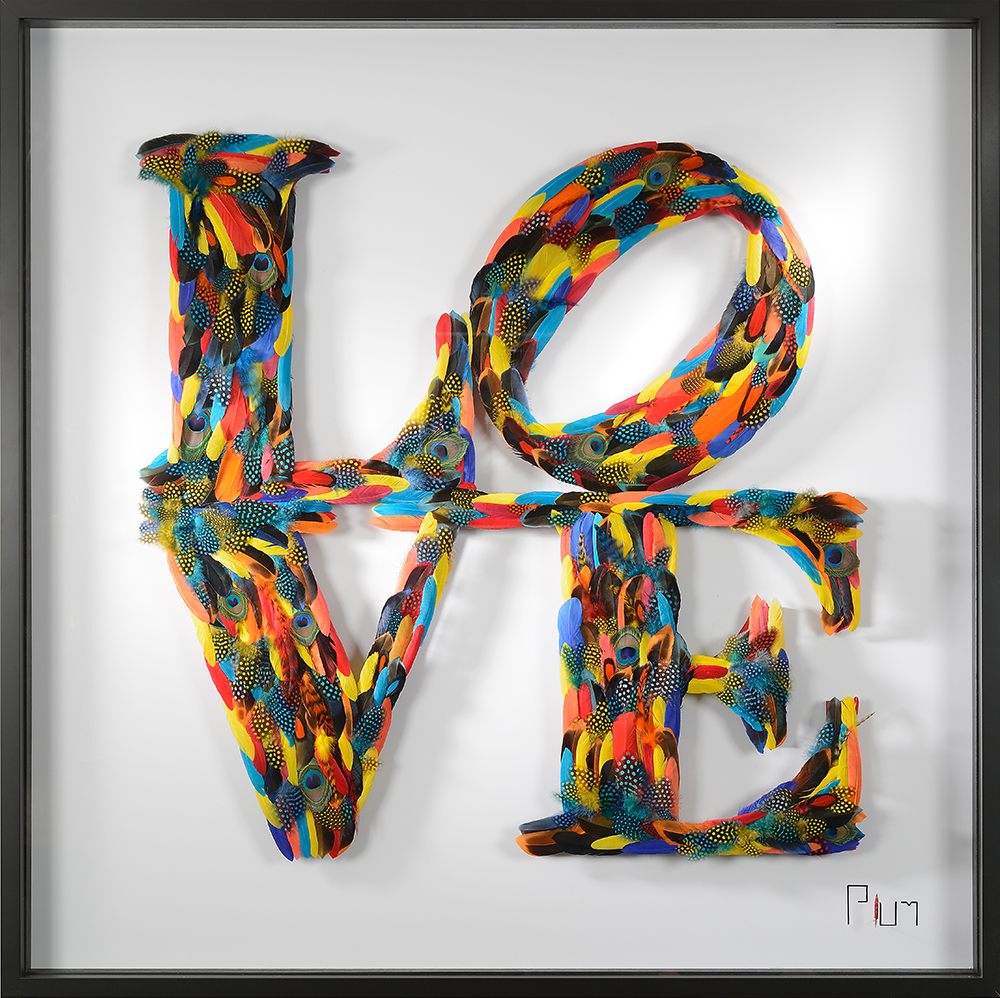 love visual art by Plums - Eden Gallery
