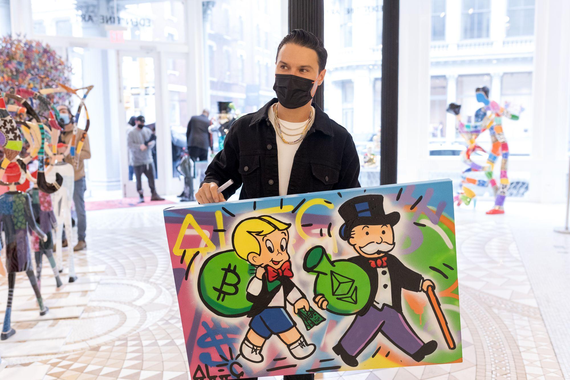 alec monopoly graffit art crypto