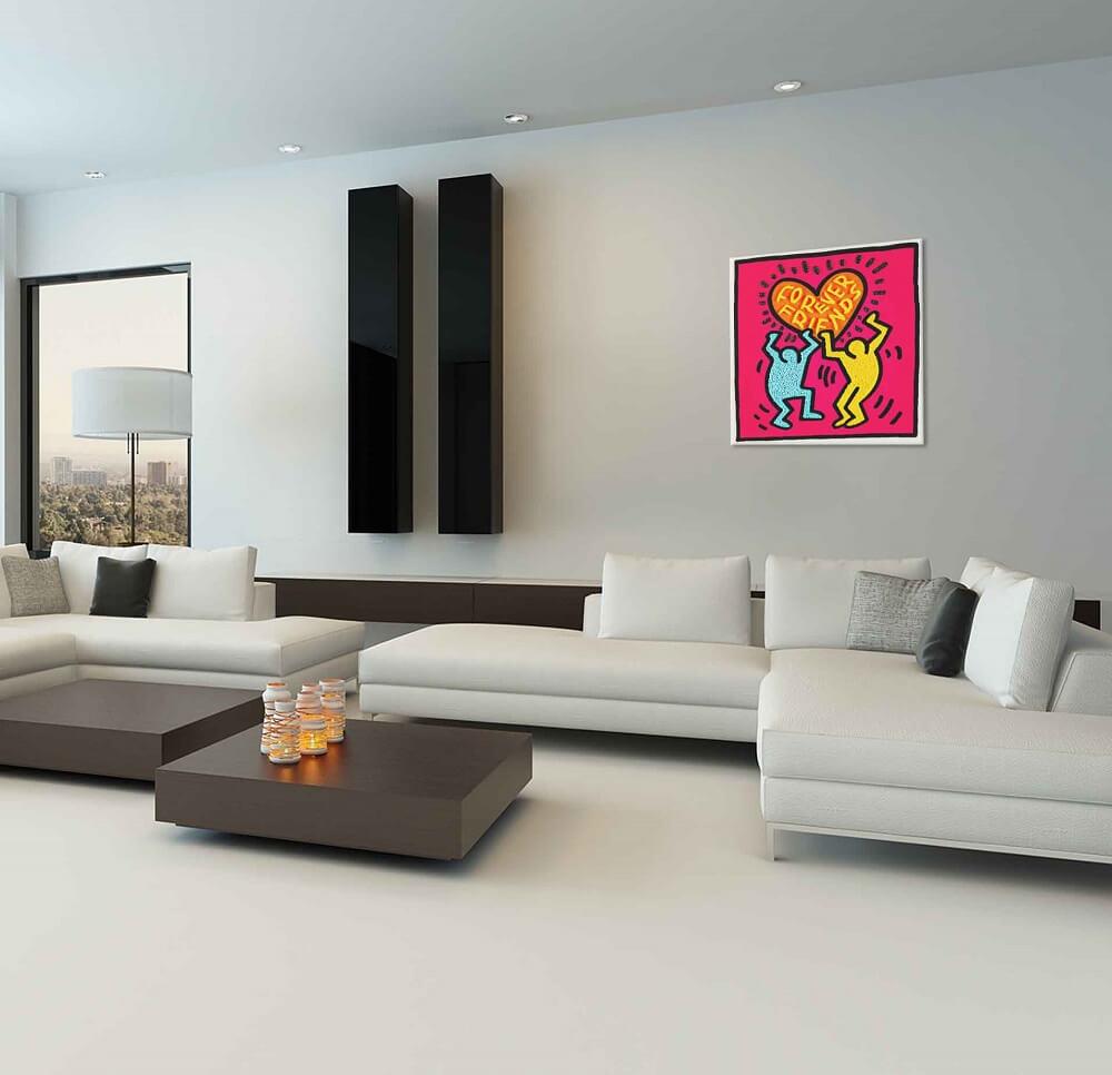 amy gold painting interior art vs design