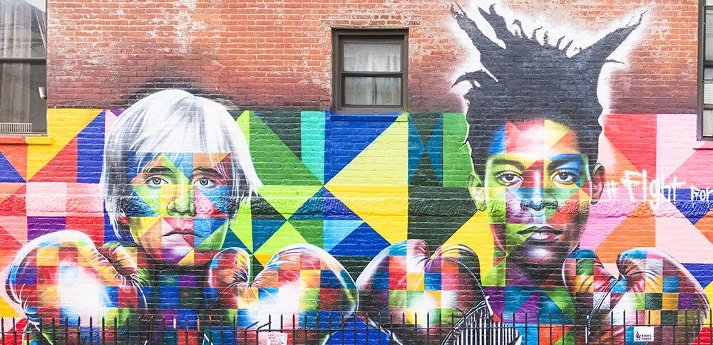 Eduardo Kobra mural street art as fine art