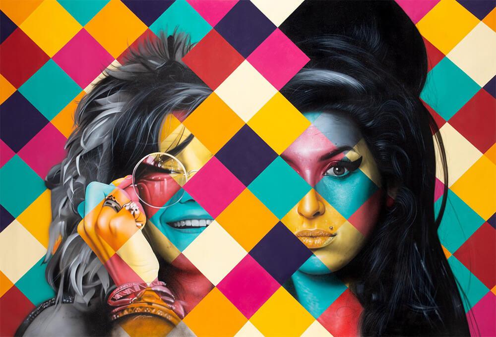 Janis Joplin Amy Winehouse - Kobra - Eden Gallery