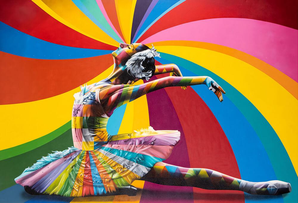 Bailarina Maya - Eduardo Kobra- Eden Gallery