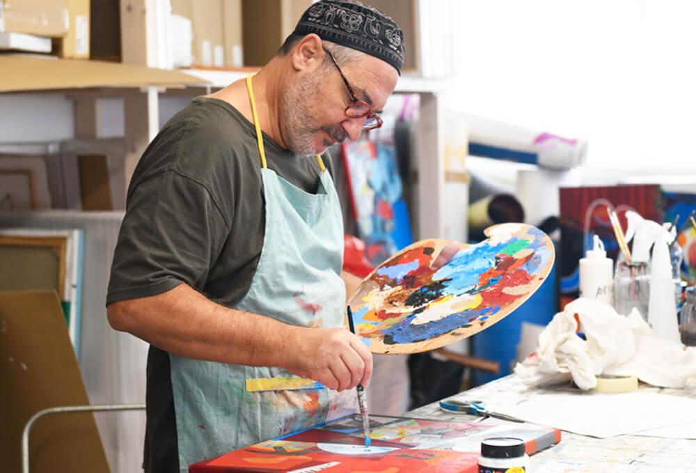 yoel benharrouche what is oil painting