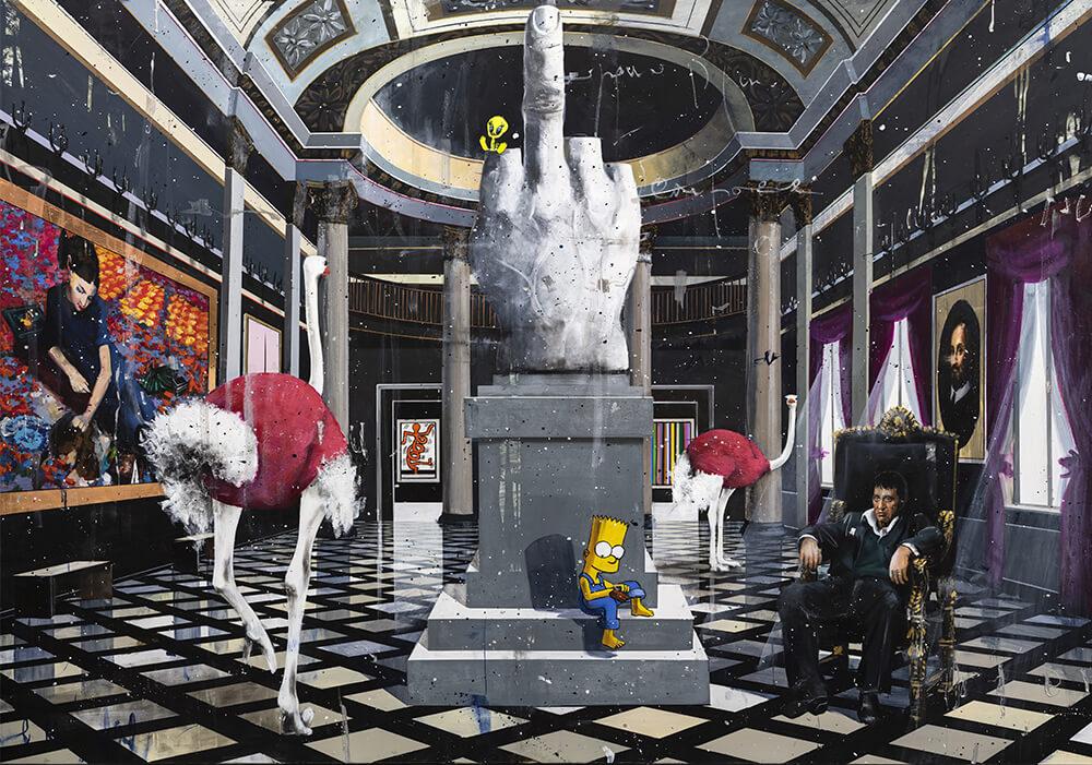 angelo accardi modern art vs classical art painting