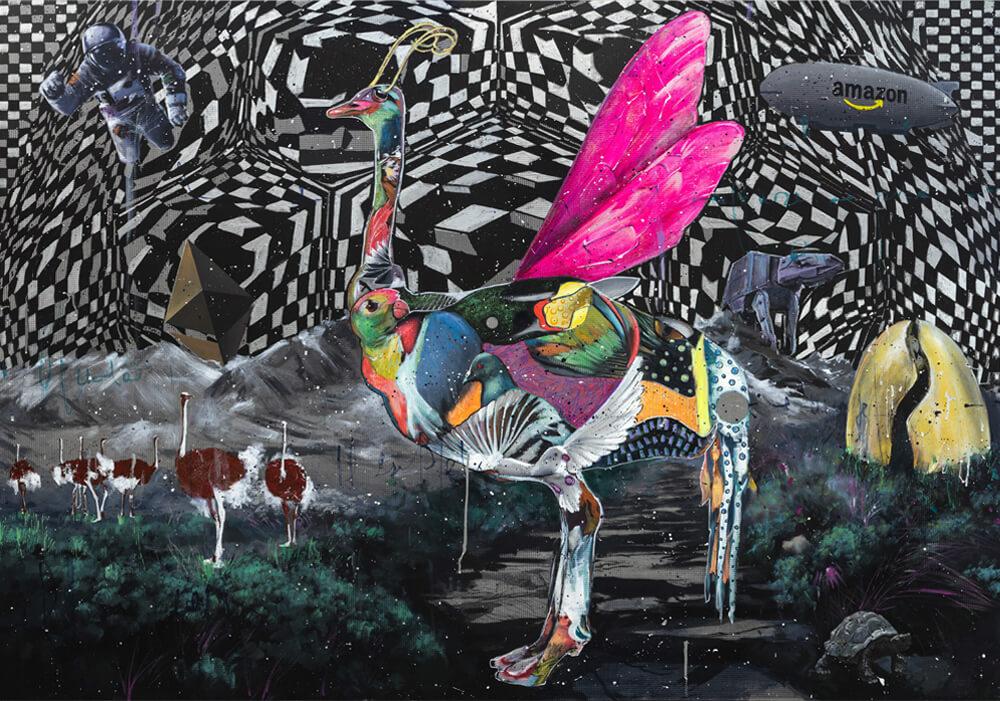 Optical Sky - Angelo Accardi- Emerging Artist