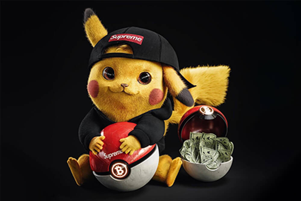 pikachu-loves-money - Gal Yosef - Emerging Artists