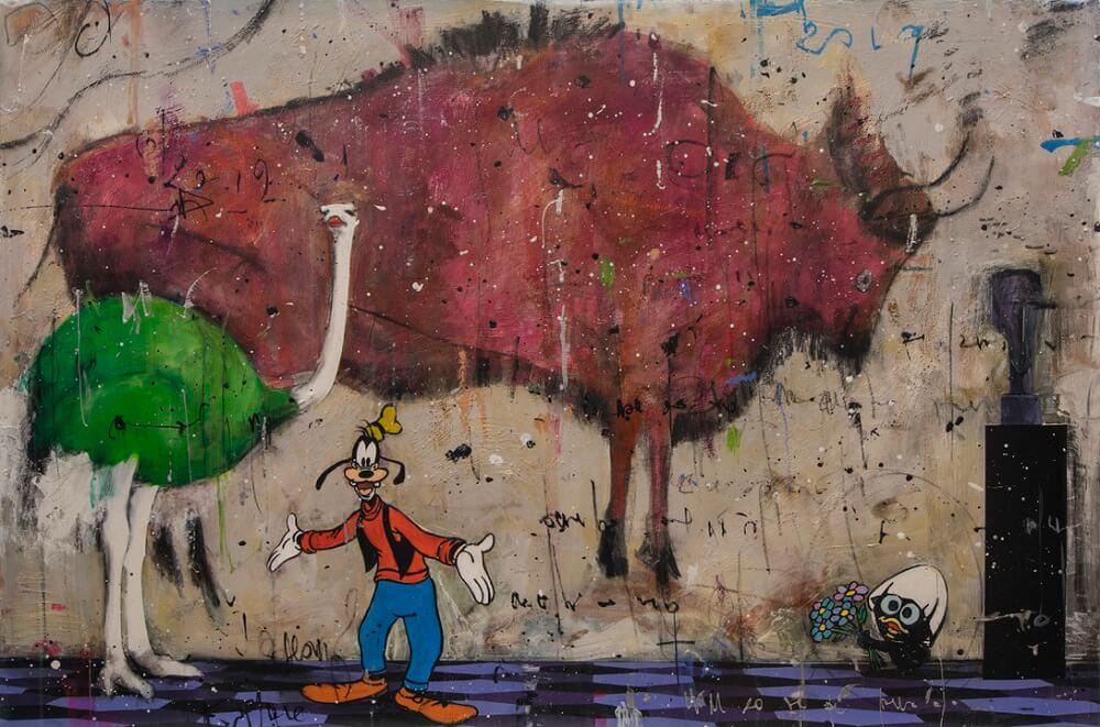 angelo accardi painting wall art graffiti