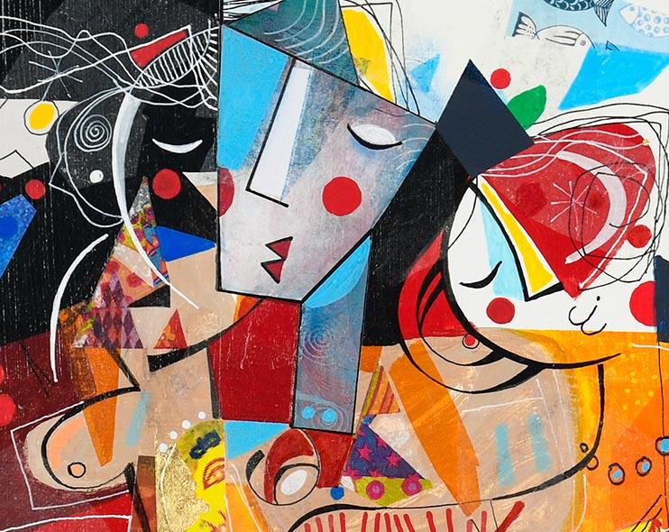 Yoel Benharrouche - how to store canvas paintings