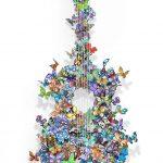 David Kracov - THE GUITARS SERIES - 3D Wall Sculptures